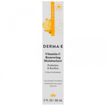 Derma E, Vitamin C Renewing Moisturizer, Probiotics and Rooibos, 2 fl oz... - $35.29