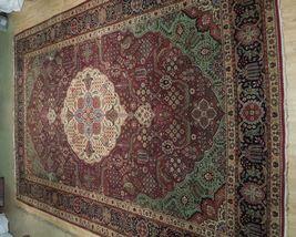 Compex Design Original Red Traditional Persian Wool Handmade Rug 10x16 Rug image 3