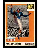 VINTAGE NFL 1955 Topps #73 Paul Governali RC VGEX - $24.08