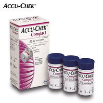 Accu-Chek Compact blood glucose Test Strips 4box (204 Sheets) image 2