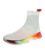 Y-AUNT049 Neu Michael Kors Strick Socke Regenbogen Sneakers Größe US 35.5 - $69.74