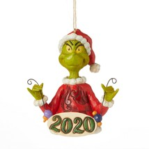 Jim Shore 2020 Grinch Collection Grinch 2020 Dated Ornament 6006573 - $23.75
