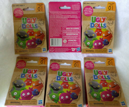6x  UGLY DOLLS Blind Surprise Figurine Bag Collector Series 1 Hasbro NEW... - $13.20
