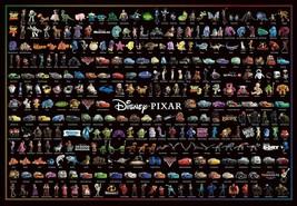Tenyo Jigsaw Puzzle Disney Pixar Character Collection 1000 Piece Japan - $59.37