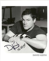 David Keith Signed Autographed Glossy 8x10 Photo - $29.99
