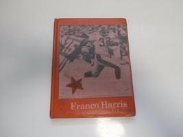 FOOTBALL PLAYER FRANCO HARRIS BY S.H. BURCHARD- HTF BOOK - $4.74