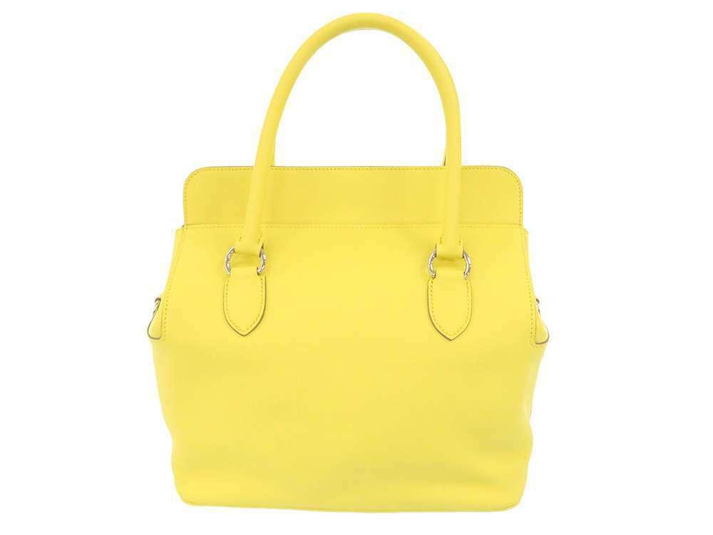 HERMES Toolbox 26 Veau Swift Soufre Handbag Shoulder Bag France #Q Authentic image 3