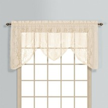United Curtain Windsor Lace Swagger, 72 by 36-Inch, Natural - $12.99