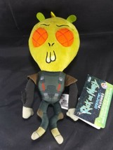 "Rick & Morty Funko Galactic Plushies Plush Toy Krombopulos Michael 9"" Pl... - $11.87"