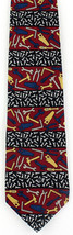 All Screwed Up Mens Necktie Vicky Davis Home Improvement Tool Silk Red N... - $19.75