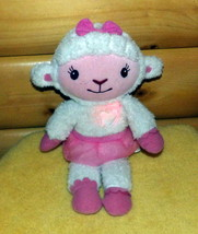 "Doc McStuffins Disney Lamb Plush 14"" Talks Sings Motion Light-Up Heart LAMBIE - $12.89"