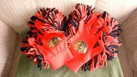 Genuine Bubba Gloves Redskins Red and Black OSFM Pom Cheer Sports Glove EUC - $18.50