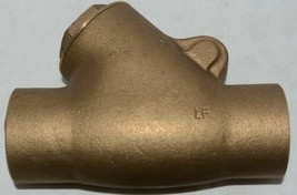 Unbranded Two Inch Lead Free Bronze Check Valve Y Pattern image 2
