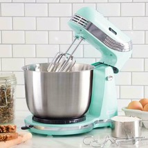 Electric Stand Mixer 6 Speed Kitchen Mix Beater Tilt Head Stainless Stee... - $51.50