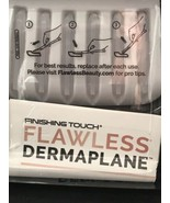 Finishing Touch Flawless Dermaplane Glo Replacement Heads 6ct - $9.99