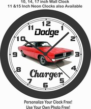 1969 DODGE CHARGER WALL CLOCK-FREE USA SHIP-NEW! - $28.70+