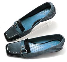 Women Cole Haan Nike Air Light Aqua Blue Loafer 7 - $95.99