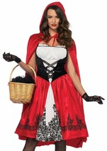 Leg Avenue Classic Little Red Riding Hood Adult Womens Halloween Costume... - $49.99