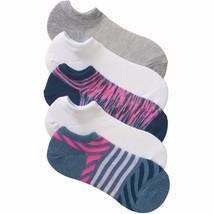No Boundaries No Show Socks 5 Pair Women's Shoe Size 4-10 Stripes  #23 - $9.89