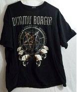 PreOwned Delta ProWeight Dimmu Borgir Tour  T Shirt 2XL - $22.76