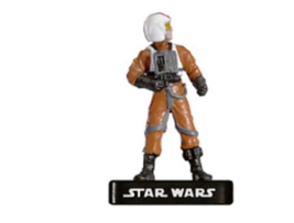 REBEL PILOT 20 Wizards of the Coast STAR WARS Miniature - $1.29