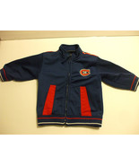 Canadiens Blue Jacket Long Sleeves Baby 12 Months 100% Polyester - $18.80