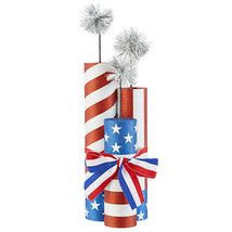 Darice Patriotic Firecrackers Tabletop Decoration: 4 x 17 inches w - $24.99