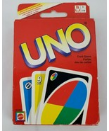 Uno Mattel Family Card Game Age 7+ Sealed Deck - $9.75