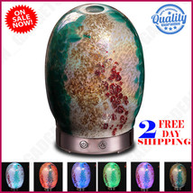 Essential Oil Diffuser Aromatherapy Humidifier Aroma14-Color LED Light 1... - €27,70 EUR
