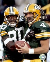 NFL Brett Favre Donald Driver Green Bay Packers Hof Licensed 8 x 10 Pho... - $6.08