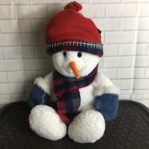 Commonwealth Snowman Plush 2000 Stuffed Animal 20 inches - $22.49