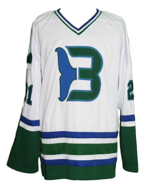 Macdermid  21 whalers retro hockey jersey white   1