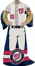 """Washington Nationals ~ Officially Licensed Comfy Throw Blanket ~ 48"""" x 71"""" - $30.40"""