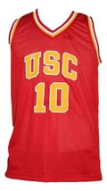 Demar Derozan #10 College Basketball Jersey Sewn Red Any Size image 1