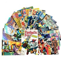 Fantastic Four Comic Book Lot 19 Issues Marvel VF NM Copper Age Wolverin... - $44.50
