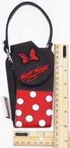 Minnie Mouse - Oem Disneyland Bow & Polka Dots Theme Travel Or Carry Case Used - $9.88