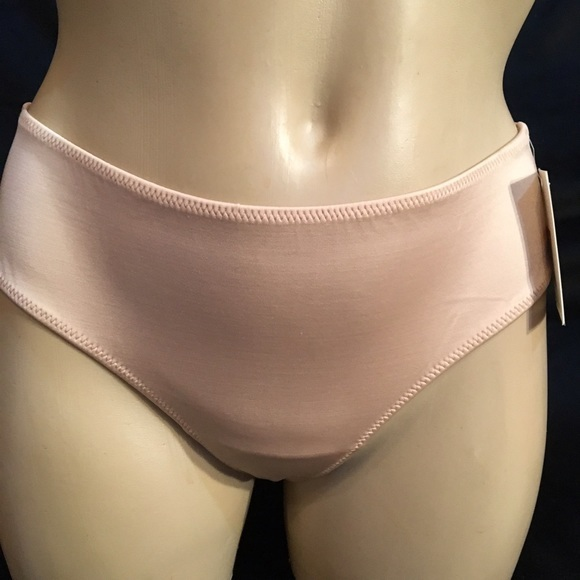 Calvin Klein Nude Lace & Satin thong panty S or L NEW