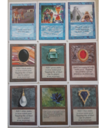 Mtg Magic Proxy P9 Set Unlimited 9 Cards Black Lotus Mox Power Nine Ruby... - $32.40