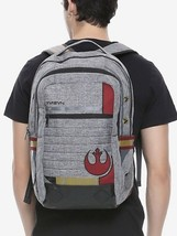 Star Wars Disney Rebel Logo Pilot Helmet Cosplay Built Up Backpack - $42.07