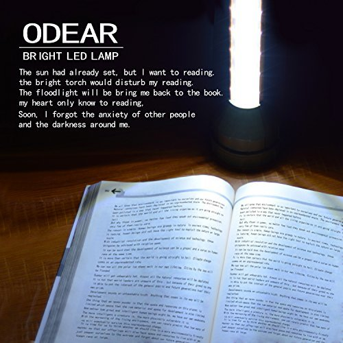 Odear Very Bright Large Flashlight Multi-function Digital LED