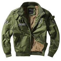 Bomber Jacket Ma1 Air Force Pilot Casual New Arrival Military Style Men ... - $73.41