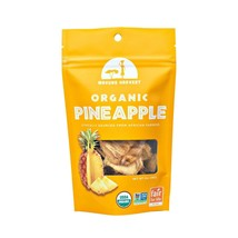 Mavuno Harvest Fair Trade Organic Dried Fruit, Pineapple, 2 Ounce