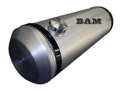 1//4 NPT OFFSET OUTLET BUNG 6x16 END FILL SPUN ALUMINUM GAS TANK 1.6 GALLON