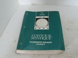 1998 Ford Contour Mercury Contour Service Shop Repair Manual - $19.75