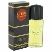 Cologne OPIUM by Yves Saint Laurent Eau De Toilette Spray 1.6 oz for Men - $49.29