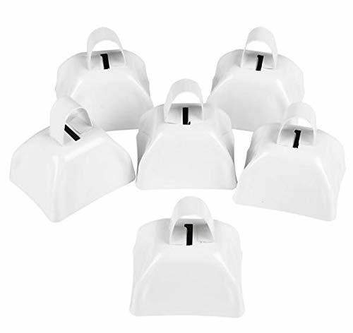 "Primary image for 3"" Metal Cowbell (1 dozen) - White"