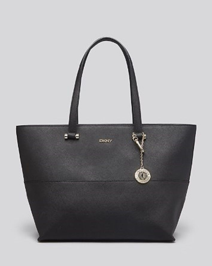 DKNY Tote - Bryant Park Saffiano Shopper With Pocket
