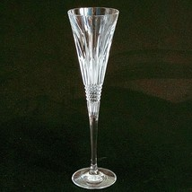 1 (One) Waterford Lismore Diamonds Cut Crystal Champagne Toasting Flute-Signed - $77.16