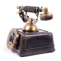 Grocery handicrafts Retro vintage telephone model Decoration photography... - $99.00