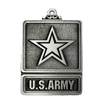 An item in the Everything Else category: US Army Pewter Christmas Ornament